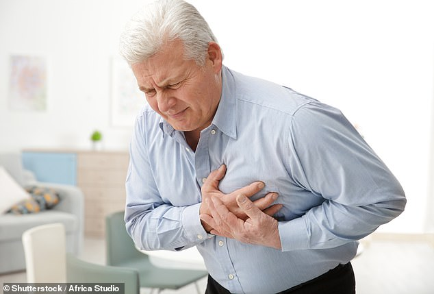 A heart attack (myocardial infarction or MI) is a serious medical emergency in which the supply of blood to the heart is suddenly blocked, usually by a blood clot (stock image)