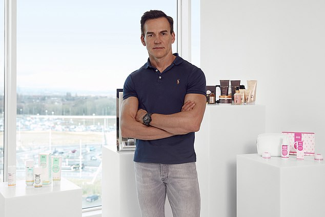 Matthew Moulding, 48, founded technology firm The Hut Group in 2004 and received what is one of the largest bonuses in corporate history after the company's share price rose to meet its target