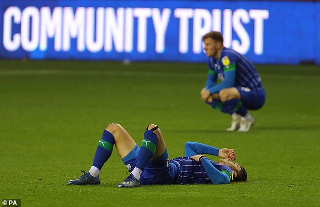 Wigan was relegated after being hit with a points deduction for entering administration