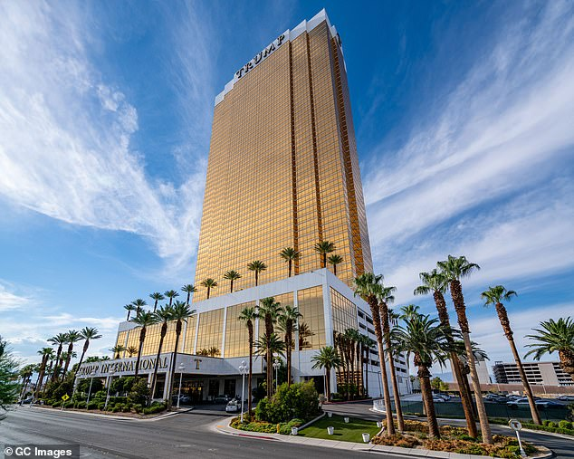 Trip to Trump property in Las Vegas resulted in government-paid 'resort fee' of $ 29 on top of room charges