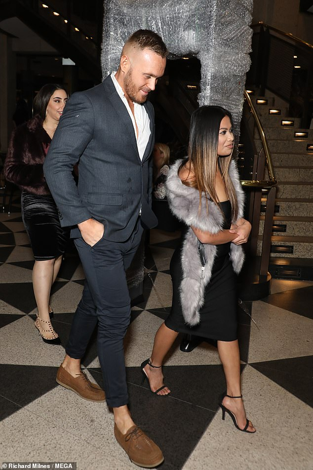 What a gentleman!Love Island star Eden was ever the gentleman as he accompanied Cyrell inside the United Cinemas in Sydney's Circular Quay