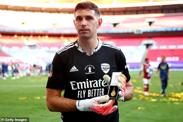 Goalkeeper Emiliano Martinez, who played in the FA Cup final, is a self-isolated player