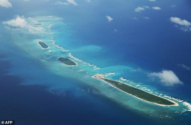 The region near the disputed Paracel Islands has seen heightened tensions recently with both the US and China conducting military operations
