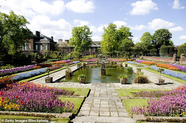 It comes after a statement on behalf of the Duke of Sussex and the Duke of Cambridge announced that a statue of Princess Diana was to be installed in the Sunken Garden.