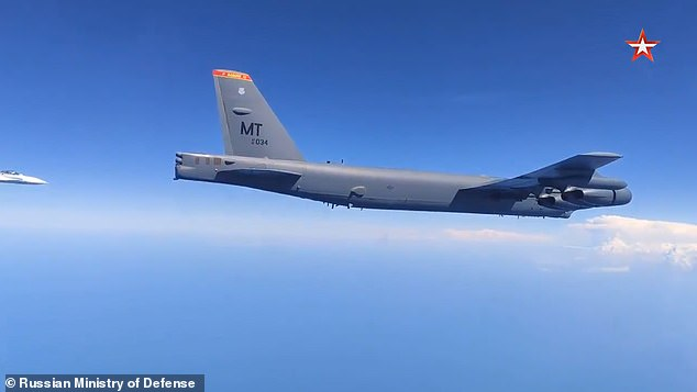 US says Russian intercept of B-52 bomber over Black Sea was 'unsafe and unprofessional'   Daily Mail Online