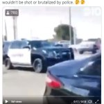 Deputy in California KICKS a black man who had his hands above his head during an arrest