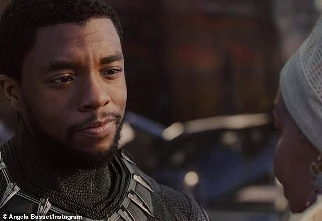 The star: Chadwick Boseman played the titular role of Black Panther in the Marvel franchise