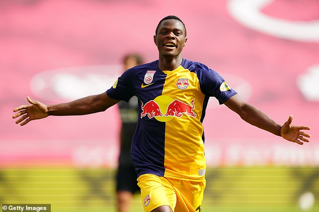 Manchester United have joined Liverpool to line up RB Salzburg forward Patson Daka