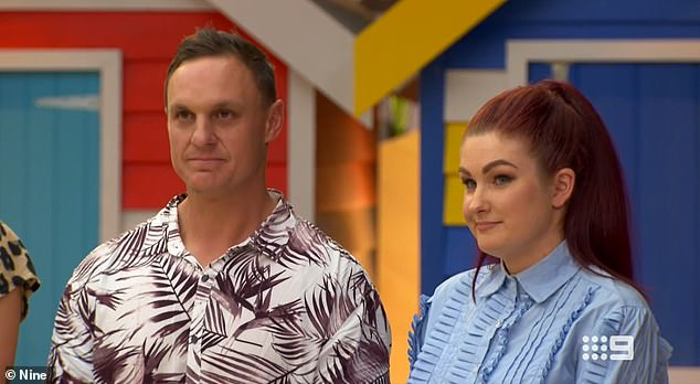 Top spot: But it was Jimmy and Tam's 1950's guest bedroom that ended up being the winning room. They earned 25-and-a-half points, awarding them the $10,000 cash prize and state-of-the-art appliances for their kitchen