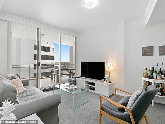 Listed in March, the same Kent Street apartment remains on the market