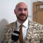 'You big dosser!': Tyson Fury goads 'pal' Deontay Wilder with 'a special message'