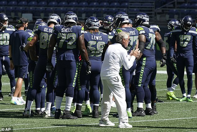 Carroll urged other coaches to use their platforms to be leaders in their community