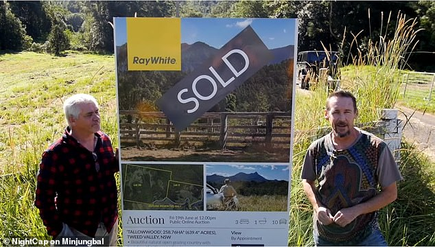 The site was recently bought for $2million and was previously home to a similar project that collapsed, owing would-be-residents and creditors $2.5million, they claim (Mr Brennock pictured right)