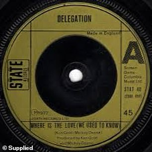 The second single from Delegation's first album, The Promise Of Love, was called Where Is The Love (We Used To Know)