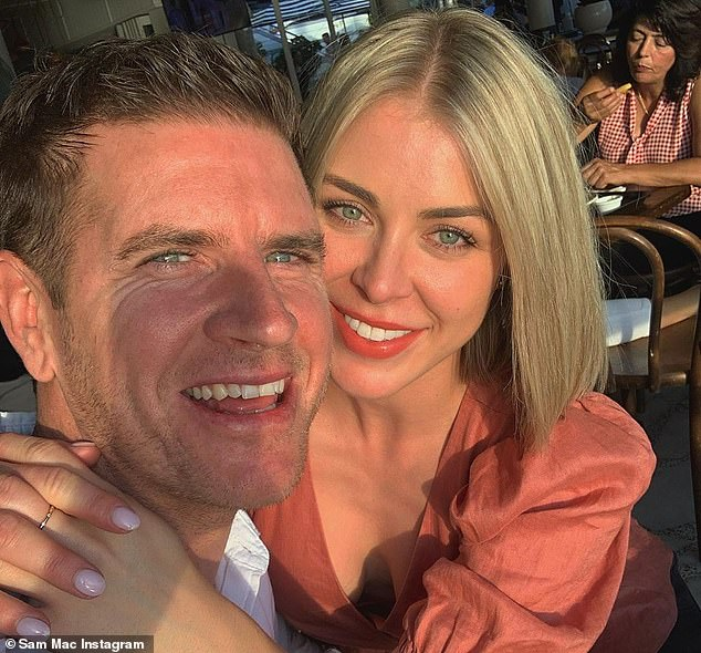 Last romance: The segment may well be the perfect advertisement for Sam, who is believed to be single after splitting from girlfriend Elle Whittaker in August last year