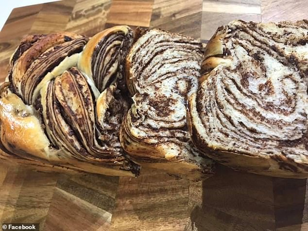 Japanese chocolate marble bread, widely regarded as the softest, fluffiest bread on earth