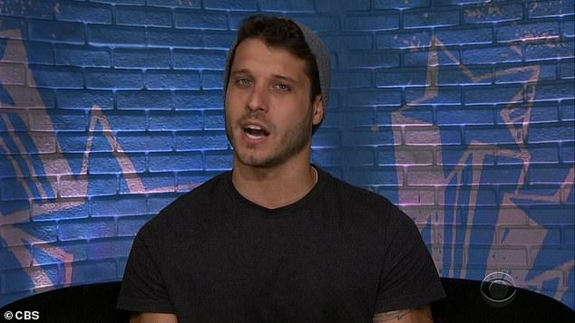 Lying:Cody says in confession that 'one person in this room is definitely lying'