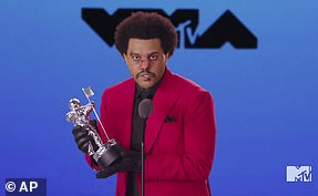 After Hours: The Weeknd took home Best R&B video as well as top honor Video Of The Year