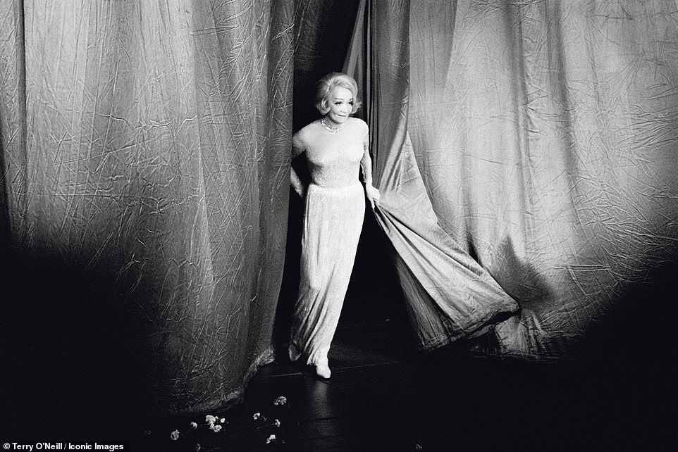 A selection of rare and previously unseen images taken by British photographer Terry O'Neill are set to go on display in London in September, including one of the German actress Marlene Dietrich walking on stage in London in 1975