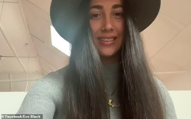 In a video uploaded to her social media, Black insisted she did nothing wrong and police hunted her down in revenge for the video