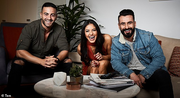 Fan favourites: Jad, Matty and Sarah Marie are one of Gogglebox's most popular households