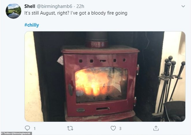 Fires are a common sight on Twitter today as people share the ways that they are trying to beat the freezing temperatures