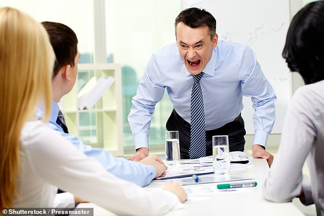 Disagreeable people, who are selfish, combative and manipulative may be intimidating, but their lack of social skills cause them more harm at work than good. Stock image