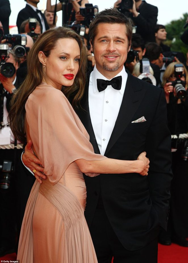 Bitter split: The TV and film star's divorce proceedings with ex Angelina, 45, have stretched into its fourth year (pictured in 2009)