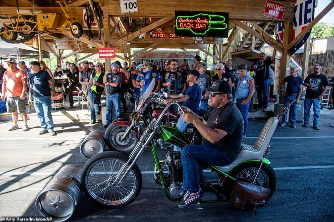 Across the Midwest, infections have also risen after the annual Sturgis Motorcycle rally in South Dakota that drew more than 365,000 people from across the country between August 7 to 16