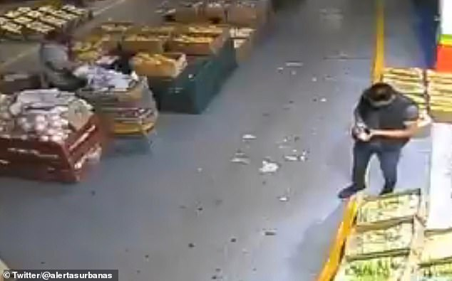 Geramael López was assassinated next to his plantain stand by an unknown man Saturday in Mexico City's largest wholesale market. Local media outlets report that shooting may be related to gangs seeking extortion payments from local businesses