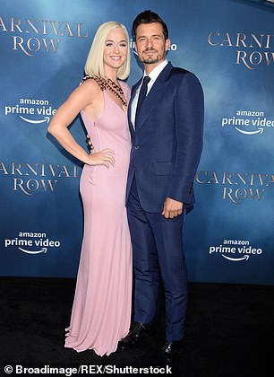Solid pair: now she is happily engaged to Orlando Bloom;  seen in August 2019