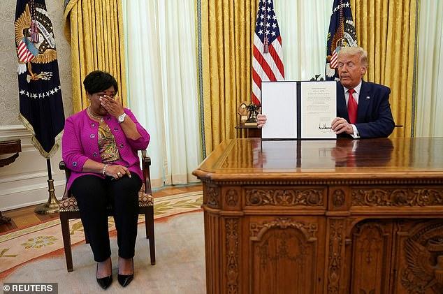 President Trump gave Alice Johnson a full pardon last week