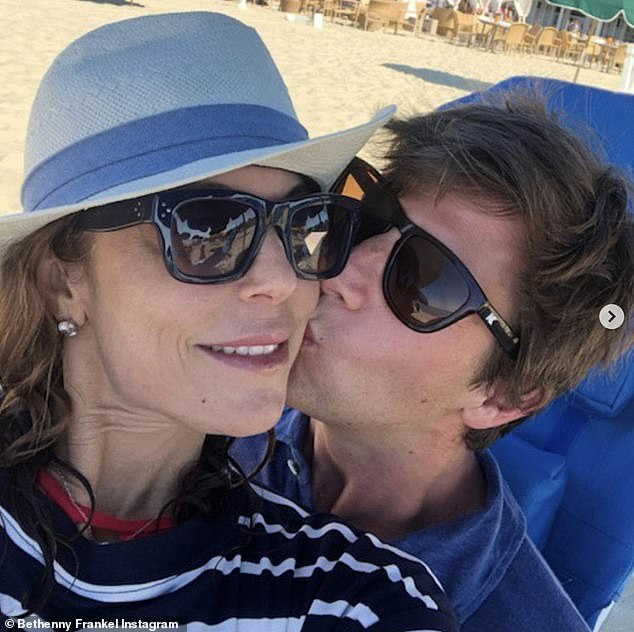 Quarantine:Frankel has been quarantining with Bryn and her film producer boyfriend Paul Bernon at all three of her properties in Manhattan, the Hamptons, and their newly acquired home in Boston