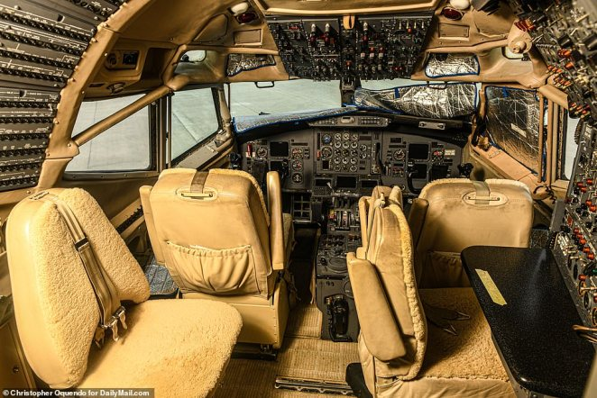 Stambaugh Aviation said the 727 jet has been owned by Florida-based World Aviation Services since March. When DailyMail.com contacted the firm's owner he responded: 'I don't want to answer questions. I don't want to get involved'