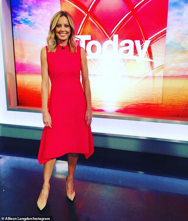 Big move! From January this year, Langdon began presenting the Today show with co-host Karl Stefanovic