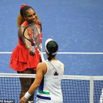 Serena Williams breaks record for most career matches won at US Open