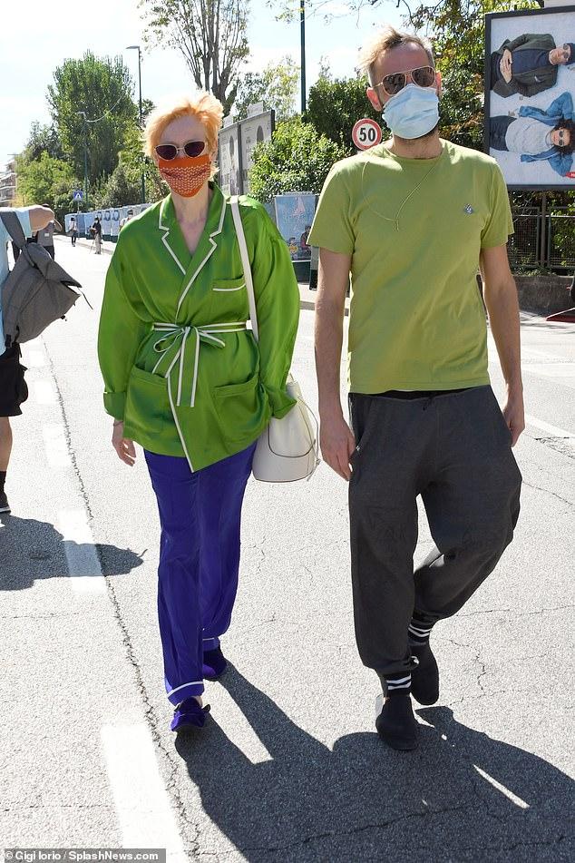 Tilda Swinton Exudes Elegance As She Dates Beau Sandro Kopp At The 77th Venice Film Festival Fr24 News English