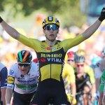 Adam Yates becomes ninth Briton to wear Tour de France's yellow jersey
