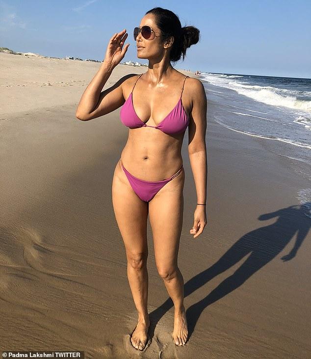 Padma Lakshmi declares '50 is the new 30′ as she poses in a string bikini