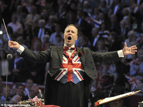Pictured: Sakari Oramo conducting the BBC Symphony Orchestra at the Royal Albert Hall. Rule Britannia and Land of Hope and Glory will return for this years' event
