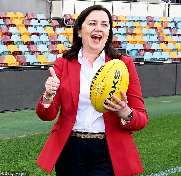 Mayor Katrina Humphries called on Queensland Premier Annastacia Palaszczuk (pictured) to open the border and allow Mungindi residents to cross to buy food