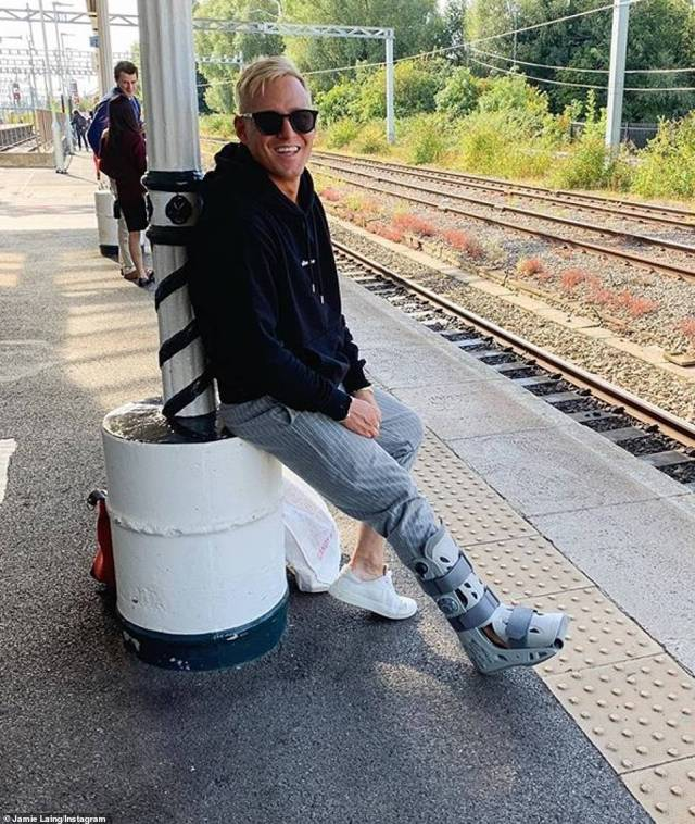 Gutted:Made In Chelsea's Jamie Laing was signed on for Strictly 2019, even being partnered up and appearing in the opening episode of the series
