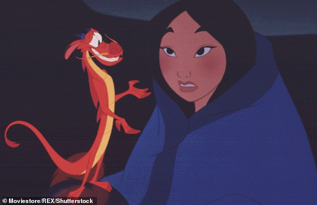 New direction: 'We were very inspired by what Mushu brought to the animation, which was the humor and the levity, and the challenge was to bring that to Mulan's real relationships with her fellow soldiers,' Caro explained; still from Mulan (1998)