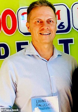 Managing director Daryl Holmes (pictured) owns two-thirds of the company and will get about $2million
