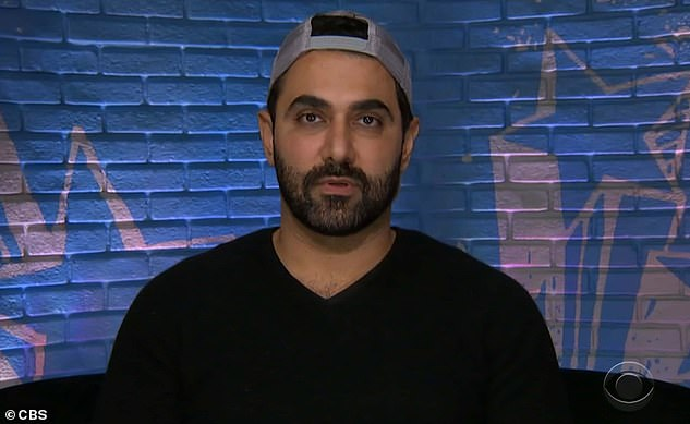 Eviction nominee:Kaysar Ridha, 39, remained a nominee for eviction