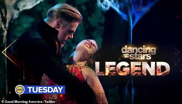 Legend returns:Shortly after Tyra Banks was announced as the new host, sources told DailylMail.com that Hough had been approached to return to DWTS