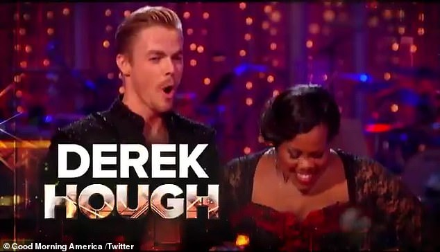 Derek's return: Four years after leaving ABC's hit reality series Dancing With the Stars, Derek Hough is slated to return