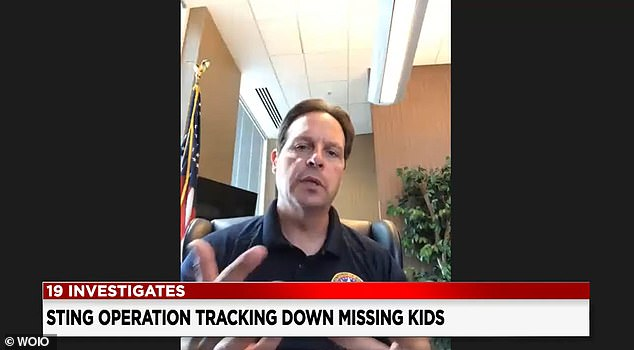Pete Elliott of the US Marshals said that 25 children have been rescued so far in Ohio