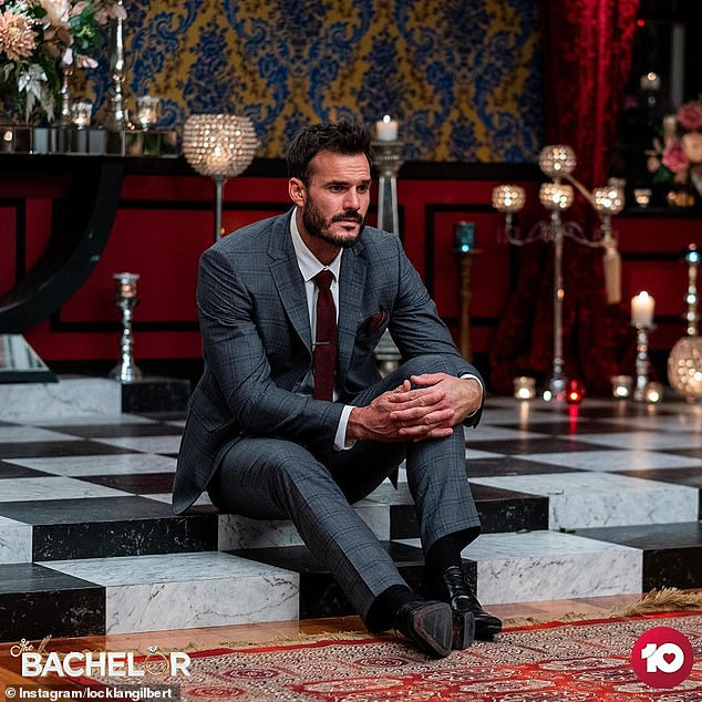 Bad news: The eyebrow-raising snap comes after host Osher Günsberg revealed to the Locky and his bachelorettes during Wednesday's episode that it was not possible for the production team to keep them safe on the set anymore and that they would be going on hiatus.