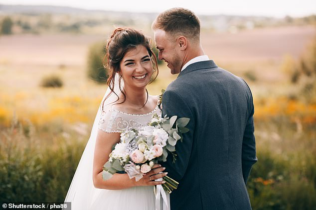 The Law Commission, an official body that scrutinises UK legislation, said the rules around weddings are antiquated and 'no longer meet the needs of many couples'. File photo